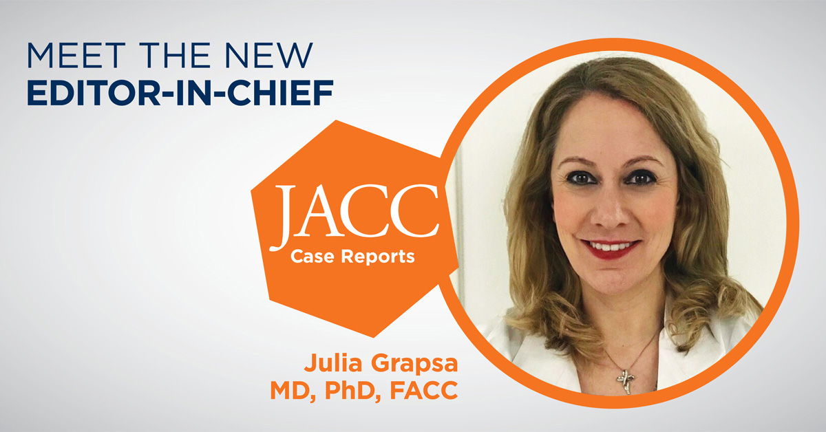 Meet the Editor-in-Chief of JACC Case Reports